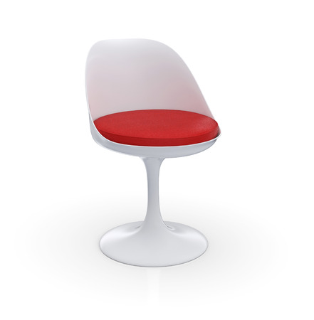 Futuristic Chair - Red WEIA Stock Photo - 25681158