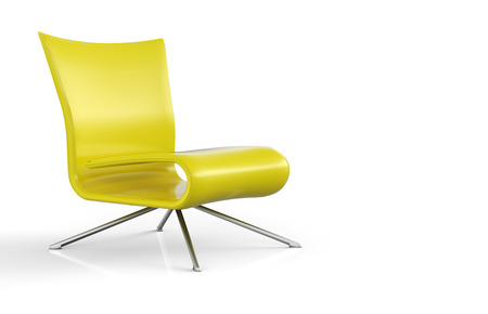 Sit and Relax - yellow Stock Photo - 25681160