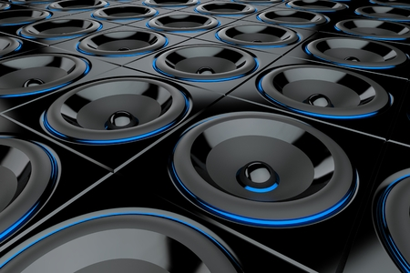 music loudspeaker: loudspeaker wall 1