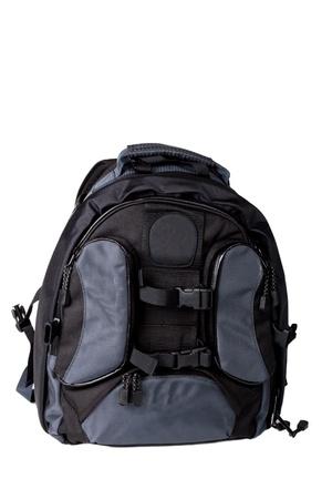 Foto Rucksack auf einem weißen Hintergrund Standard-Bild - 12728992