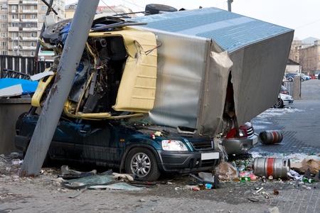 accident de travail: Voler l'�chec exp�rience de voiture