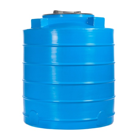 Big polyethylene container of 400 liters.