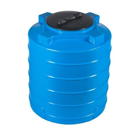 Big polyethylene container of 400 litres  版權商用圖片