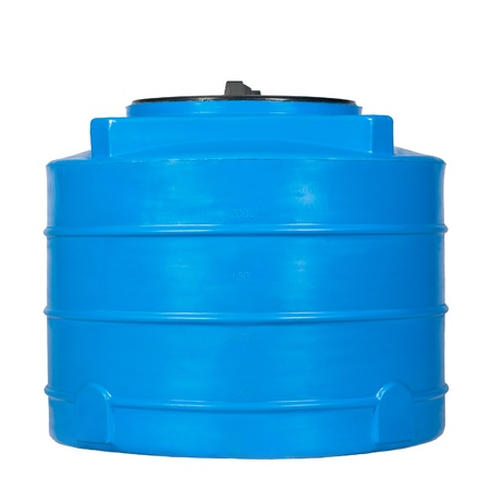 Big polyethylene container of 250 litres.