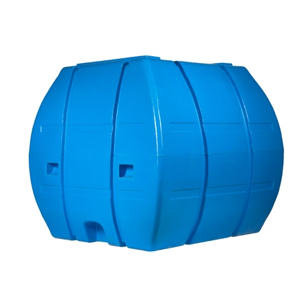 Big polyethylene container of 2000 l.