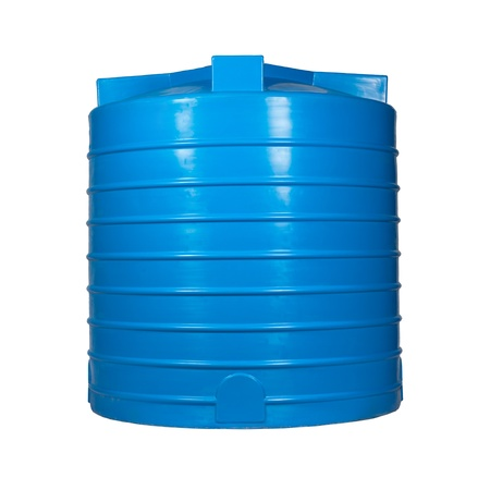 Big polyethylene container of 3000 l.  Stock Photo