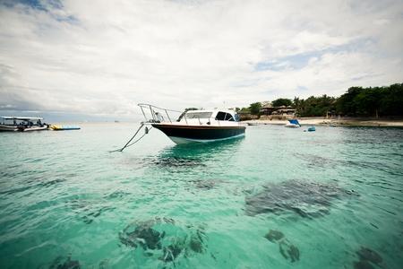 snorkling: Boats; Mushroom Bay; Lembongan, Indonesia