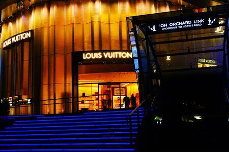 Singapore Louis Vuitton Editorial