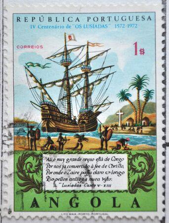 sello postal: Rep�blica portuguesa, Angola, sello postal
