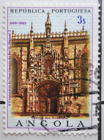 postage: Portuguese Republic, Angola, postage stamp