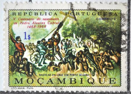 postage stamp: Portuguese Republic, Moçambique, postage stamp
