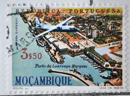 sello postal: Rep�blica Portuguesa, Moçambique, sello postal