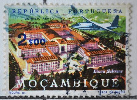 postage stamp: postage stamp, Moçambique,
