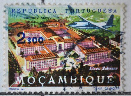 sello postal: sello de correos, Mo�ambique,