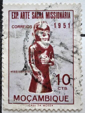 postage stamp: postage stamp, Moçambique, 1951 Editorial