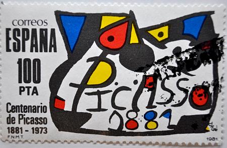 postage: postage stamp, Spain, 1981, Miró