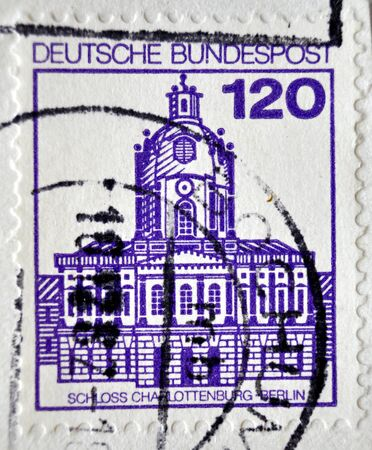 bundespost: postage stamp, Deutsche Bundespost, 1982, Germany