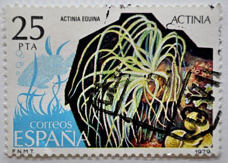 postage: postage stamps, Spain, 1979 Editorial