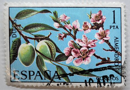 postage: postage stamp, Spain,