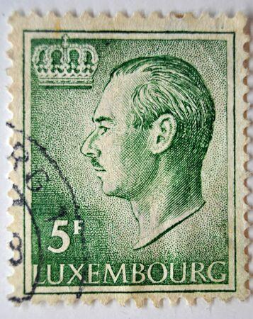 sello postal: sello de correos, Louxembourg de 1965 Editorial