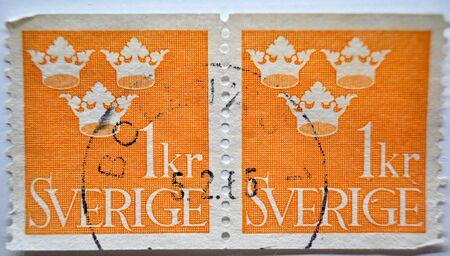 postage: postage stamp, Sverige, Sweden