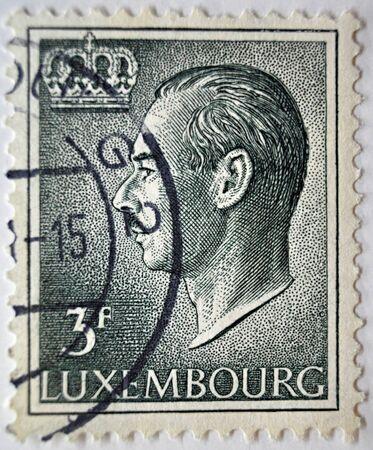postage stamp: sello de correos, Louxembourg de 1965 Editorial