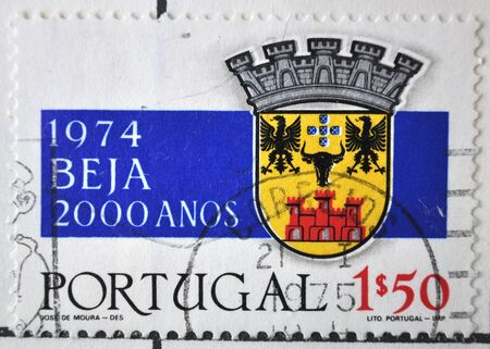 postage: postage stamp, Portugal, 1974, Beja Editorial
