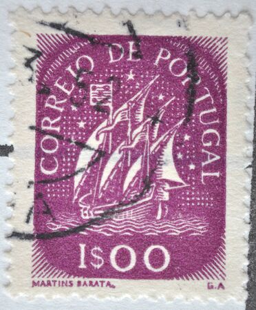 postage: postage stamp, Portugal Mail, 1943