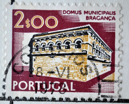 postage: postage stamp, Portugal, 1972, Braganca Editorial