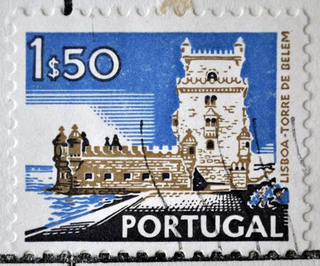 sello postal: sello de correos, Portugal, 1972