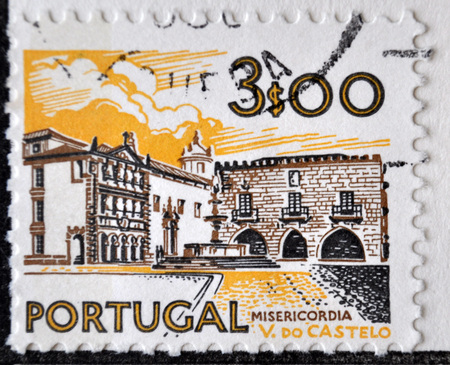 postage: postage stamp, Portugal, 1972