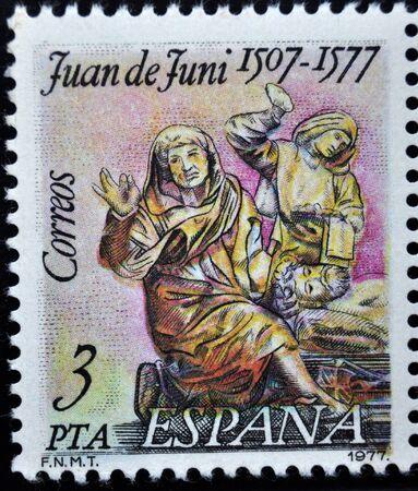 aniversary: postage stamp, Spain, 1977