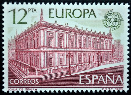 postage: postage stamp, Spain, 1978 Editorial