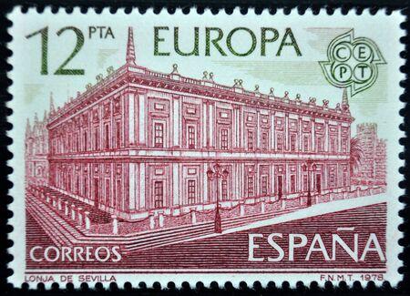 sello postal: sello de correos, Espa�a, 1978 Editorial