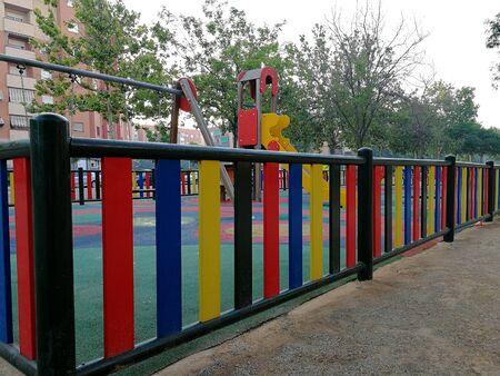 am: Childrens public park Stock Photo