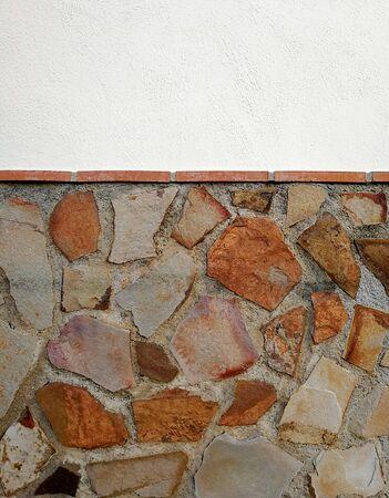 Texture de socle en pierre rouillée Banque d'images - 89615322