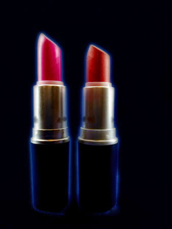 two lipsticks competing