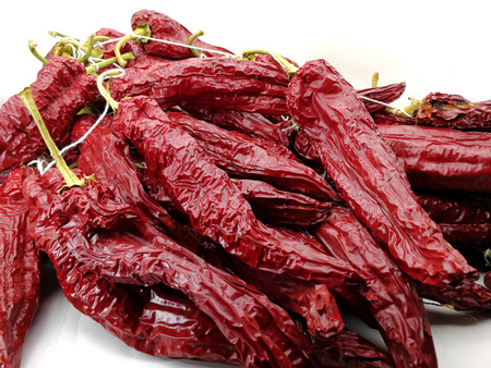 dried red peppers to make paprika