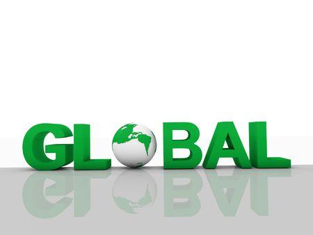 Global concept Stock Photo - 8099564