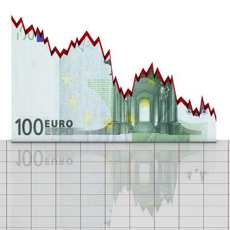 Graph trade dollar photo