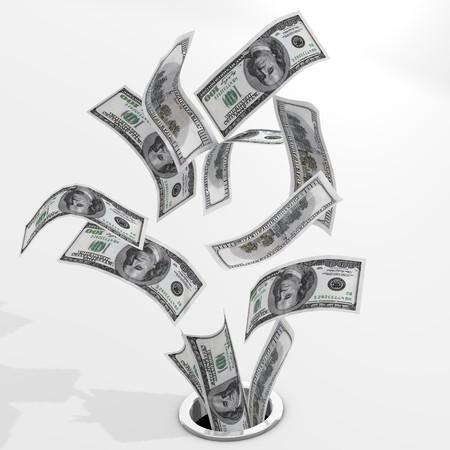 Dollars to drain photo