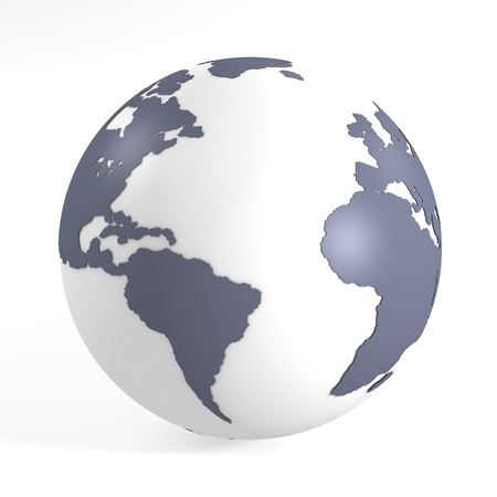 Blue earth photo
