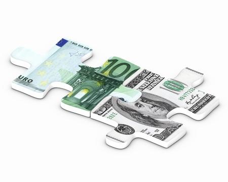 Euro versus dollar puzzle