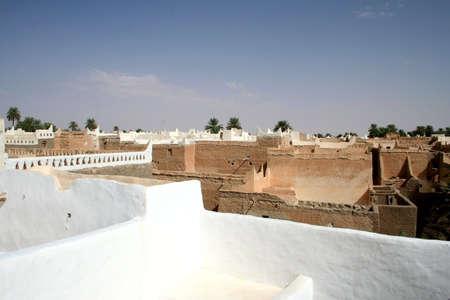 unesco protected ancient berber city of ghadames - libya photo