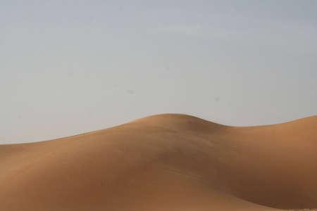 Dune of the Sahara desert in Libya Stock Photo