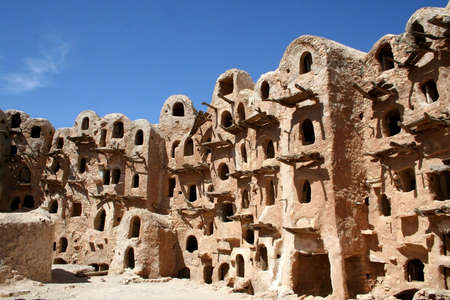 Ancient granary in Kabaw, Libya