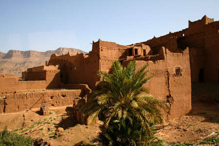 kashba in south of morocco photo