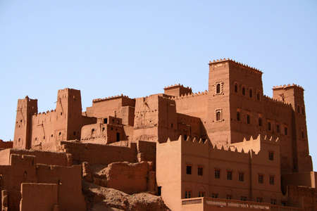 kashba in south of morocco