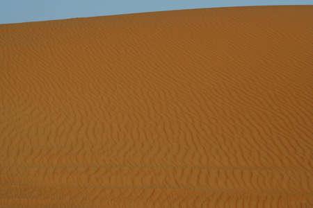 Sand dunes of Erg Chebbi in the Sahara Desert, Morocco photo