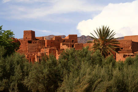 kashba valley in south of morocco